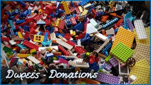Donate LEGO bricks to Breeks